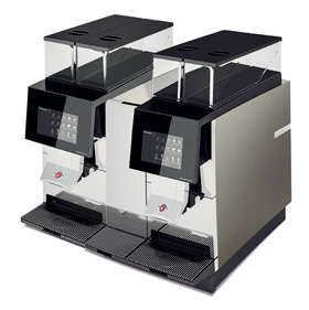 Kaffeevollautomat Black&White4 compact CTM & CTM RS